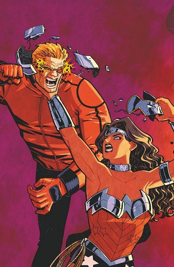 Wonder Woman April