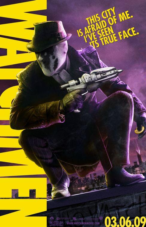 watchmen Rorschach film poster
