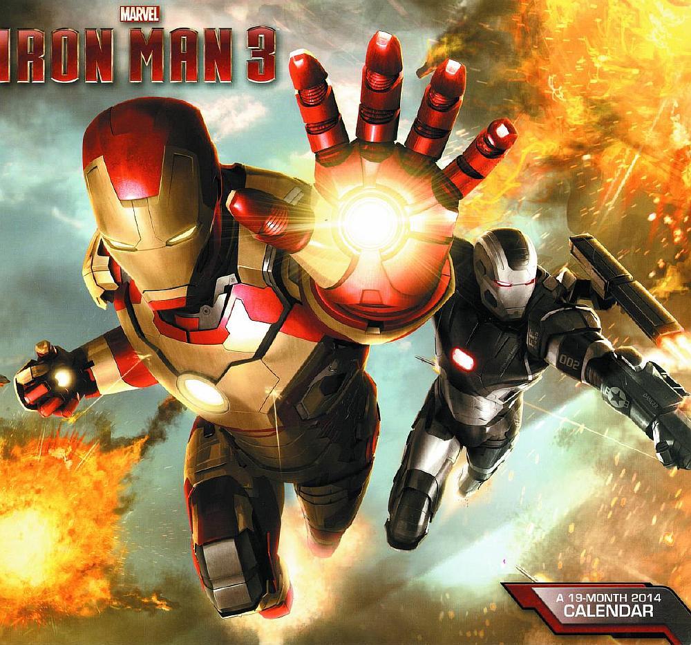 iron-man-3-19-month-2014-wall-cal-apr131465