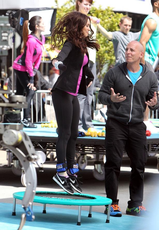 Megan Fox on the set of Teenage Mutant Ninja Turtles in NYC_050713_23