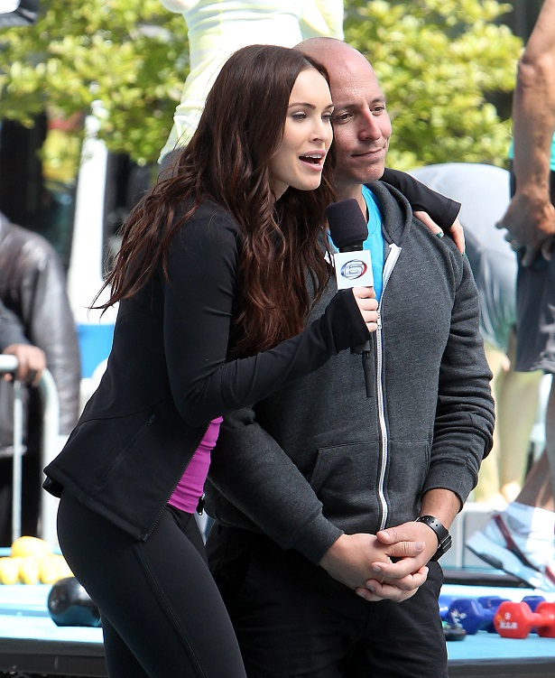 Megan Fox on the set of Teenage Mutant Ninja Turtles in NYC_050713_24