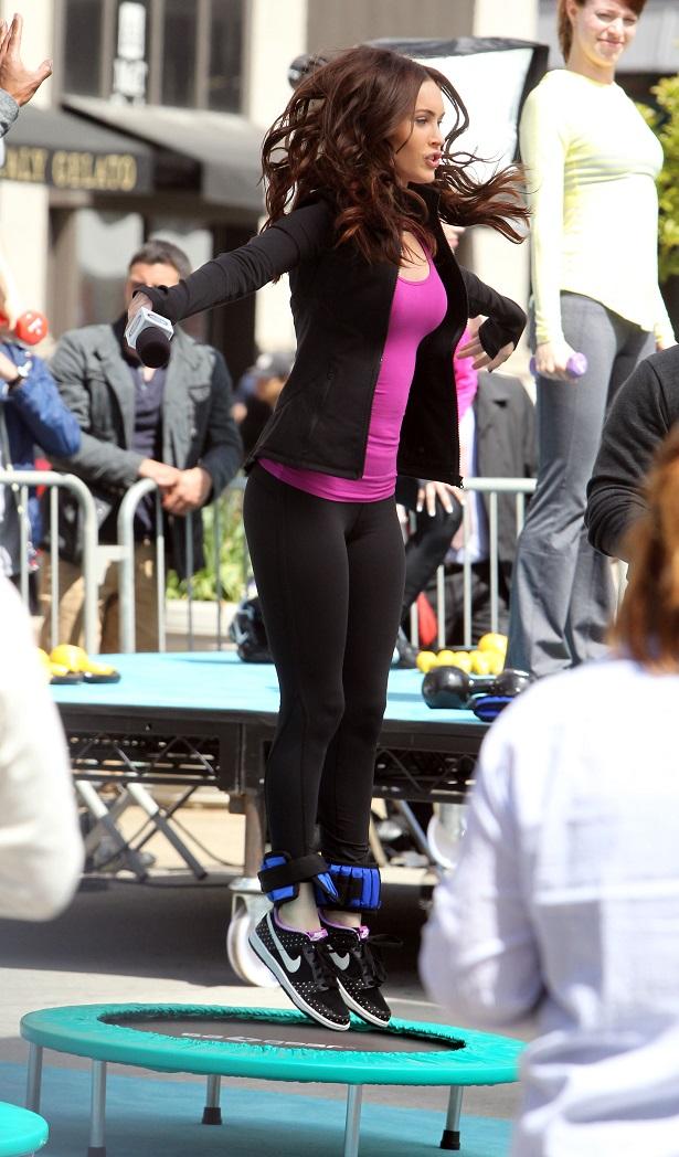 Megan Fox on the set of Teenage Mutant Ninja Turtles in NYC_050713_25