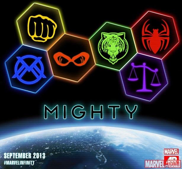 Marvel New Mighty Avengers team