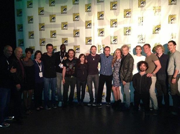 X-Men Days of Future Past cast SDCC 2013