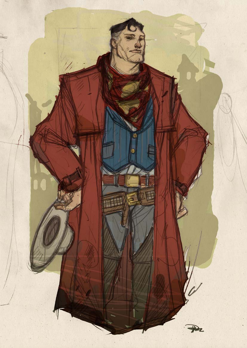 justice_league_western_re_design___superman_by_denism79-d58wlcq