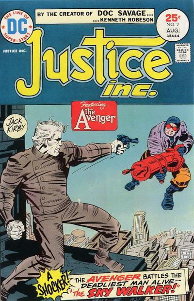Justice Inc Jack Kirby The CW