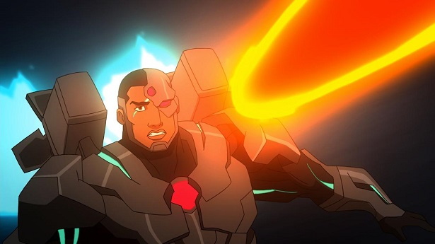 Justice League War Cyborg