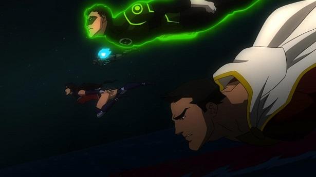 Justice League War Wonder Woman Shazaam Green Lantern