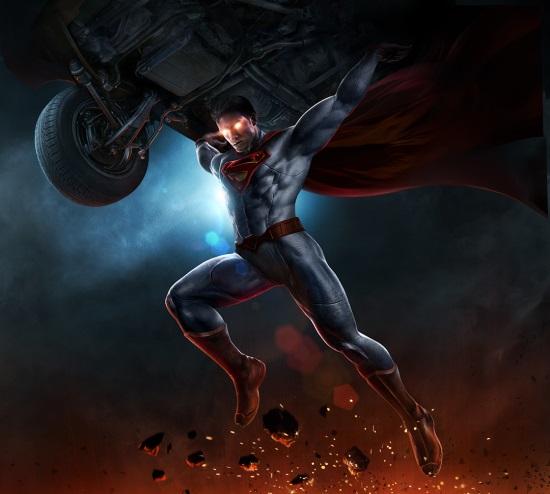 Infinite-Crisis-Superman-key-art