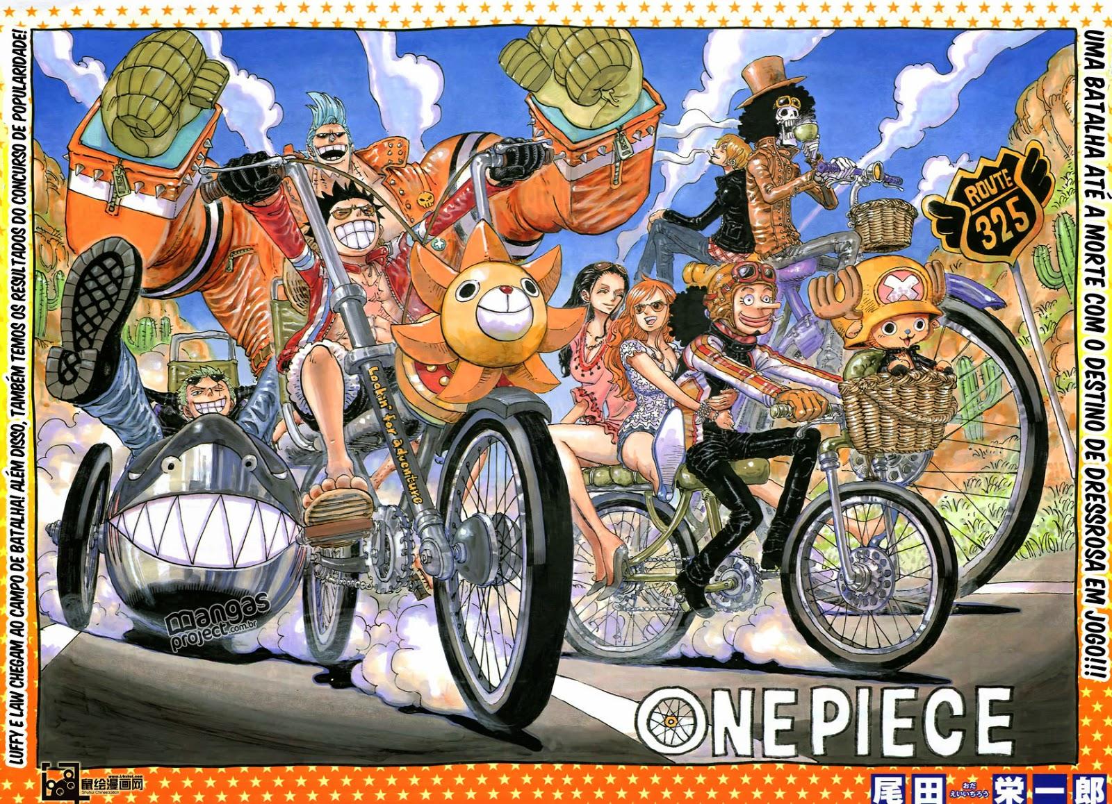 One Piece #775 - Colocando todo o meu amor em Lucian