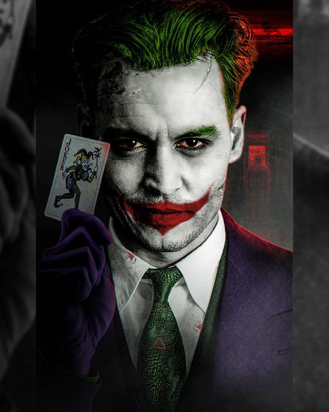 Artista mostra como Johnny Depp ficaria na pele do Coringa de The Batman