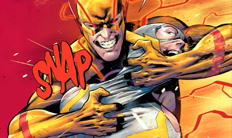 Flash #756 Eobard Thawne Barry Allen